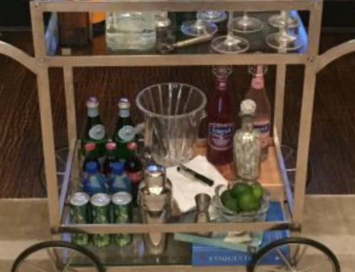 How To Style a Bar Cart 3 Ways: Bed, Bath & Bar + New Video!