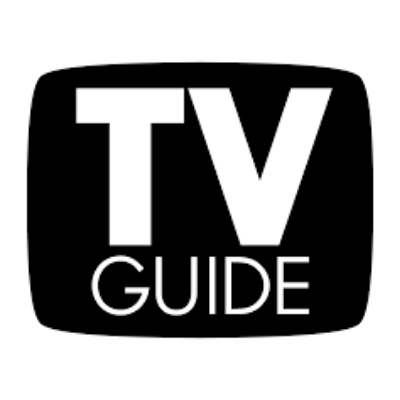 TV Guide logo in black and white
