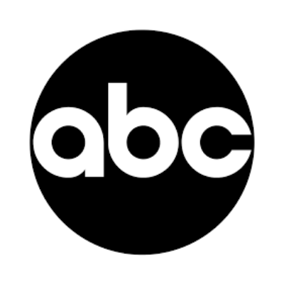 ABC logo in black and white