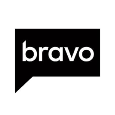 Bravo logo in black and white